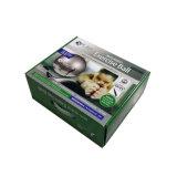 Esfera de ioga na caixa de embalagem de papel ondulado