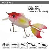 Pr-Ls051 disque flottant personnalisé Minnow leurre de pêche en plastique