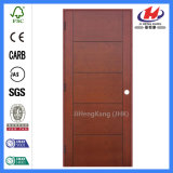 합성 Hollow 또는 Solid Wooden Interior Modern Wood Groove Flush Door (JHK-FC03)