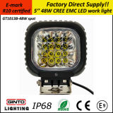 Hot Sale 48W 5'' E-IP68 Marque R10 LED pour feux de travail Offroad