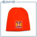 O bordado da forma do Mens fêz malha o chapéu dobrado do Beanie