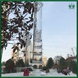 17 Zoll Hoheit-Wasser-Rohr-grosse Glaspfeife-/gerade Glasrohr/Glaswasser-Rohre