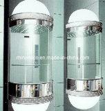 Sicher 1,6 m/s ascenseur panoramique en verre