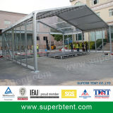 Pabellón al aire libre del marco grande del metal, tienda modificada para requisitos particulares del jardín para la venta