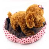 Van het Katoenen van de manier het In het groot Kussen van de Hond van de Kat van het Puppy Zachte Bed van het Huisdier
