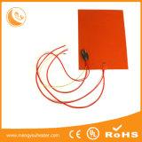 OEM paste de Flexibele Hete Elektrische RubberVerwarmer van het Silicone van de Plaat aan
