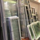 Double tente en aluminium glacée en aluminium Windows de tissu pour rideaux de bâti