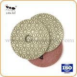 5 Passos Stone seco Almofada de polir flexível de Pedra Natural