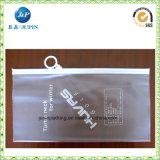 El logo impreso personalizado Wholesales Mate vestido de PVC bolsa de plástico9jp045)