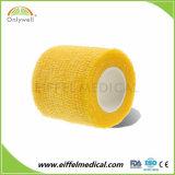 À prova de alta qualidade Non-Woven colorida bandagem coeso com preço competitivo