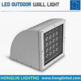 Luz al aire libre combada Intiground18W caliente de la pared de la iluminación LED de la venta