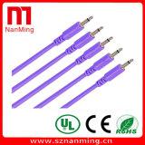 """Cabos de mono de 3,5 mm (1/8"""") de patch cables"""