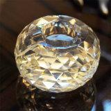 Cristal de vidro cristal Vela Coluna Candleholders Stick Removerei Decorativas Castiçal Titular Decoração Barra inicial de casamento