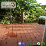 Decking imperméable à l'eau résistant UV de teck du fournisseur WPC de Guangdong