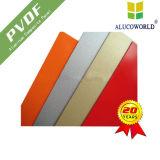 Rivestimento composito di alluminio della parete del metallo del comitato di Alucoworld PVDF