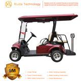 Automobile di alluminio elettrica di golf dei 2+2 telai di Seater con il certificato del Ce