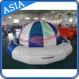 Boot van de Disco van het Stuk speelgoed van het water de Opblaasbare, het Opblaasbare Gekke UFO van de Boot van de Disco