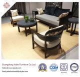 Muebles chinos del hotel con el sofá de la sala de estar fijado (67200)
