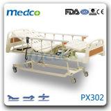 매우 낮게 3개의 기능 전기 병상, 환자 치료 침대