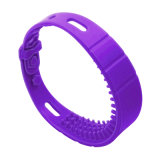Universal Silk Screen Silicone Smart RFID Wristband for Bathing Beach