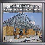 Estructura de acero de acero de la luz de la Villa de móvil para almacén