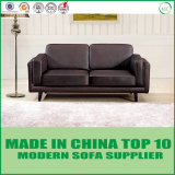 Strato moderno americano del cuoio del sofà della mobilia del salone