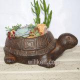 Домашний декоративный Flowerpot цвета ржавчины текстуры магнезии Китая