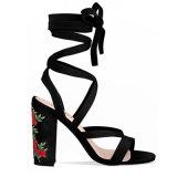Букет с вышитым обувь со скидкой платье обувь женщины высокого каблука обувь