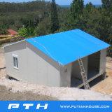 조립식 가벼운 강철 구조물 주택 건설 프로젝트