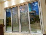 Раздвижная дверь нового двойника конструкции 2017 стеклянная алюминиевая с ценой по прейскуранту завода-изготовителя
