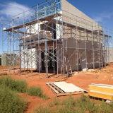 Stahlröhrenaufbau-und Gehäuse-Industrie-Asien-geöffneter Rahmen-Baugerüst
