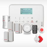 Segurança de intrusão sem fio inicial do sistema de alarme GSM de intrusão com função de operação do aplicativo