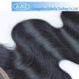 Закрытие шнурка волос 3.5*4 бразильянина 100% Unprocessed