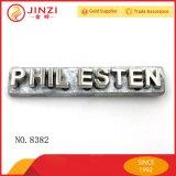 가죽 가방 부속품 질 공장 공급 유명 상표 금속 로고