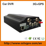 3G / WiFi / GPS Trcaker HDD 4 canales DVR móvil de Taxi / camiones / autobuses