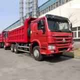 336-420HP를 가진 Sinotruk HOWO 대형 트럭 팁 주는 사람 트럭