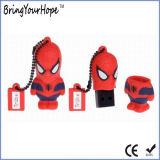 3D-дизайн Spider-Man® USB флэш-диск с изготовителями оборудования торговой марки XH-USB-188)