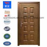 新しいデザインおよび安い価格の鋼鉄機密保護のドアの等しくない両開きドア