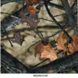 El árbol Wtp de Camo filma la hoja verdadera soluble en agua de las películas B040K21X1b Hydrographics