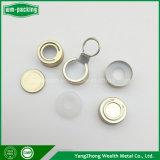Tapón de botella de aluminio de tirar el anillo, pequeñas tapas de aluminio