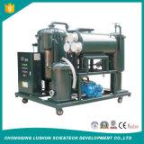 La planta de purificación del aceite de vacío de Aceite de Turbina