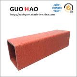 Pultruded hochfestes korrosionsbeständiges quadratisches Rohr FRP (Handhabung am Boden F002)