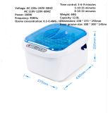 De digitale Groente van het Toestel van het Huis en de Ultrasone Reinigingsmachine van de Sterilisator van het Fruit