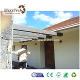Toldo de madera modificado para requisitos particulares al aire libre de la azotea de la pérgola de la alta calidad WPC