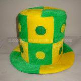 Handscharfer Fußball-Ventilator-Hut mit kundenspezifischem Firmenzeichen
