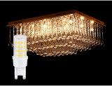 50000 horas de la vida de bulbo del tiempo LED G9 para substituir la lámpara de Tradional en la lámpara cristalina