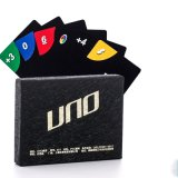 Горячий Uno PVC сбывания чешет настольная игра