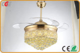 Свет вентилятора потолка самомоднейшего просто типа декоративный