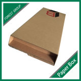 Único e caixa de empacotamento corrugada flauta da parede com tamanho personalizado