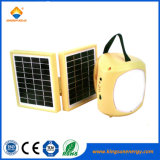 屋外のキャンプのための再充電可能な小型太陽LEDのランタンランプ
